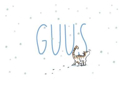 _geboortekaartje-guus-blauw-font-winter