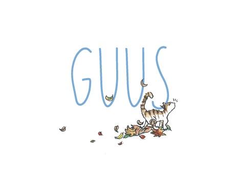 geboortekaartje-guus-blauw-herfst