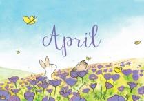 April-paars