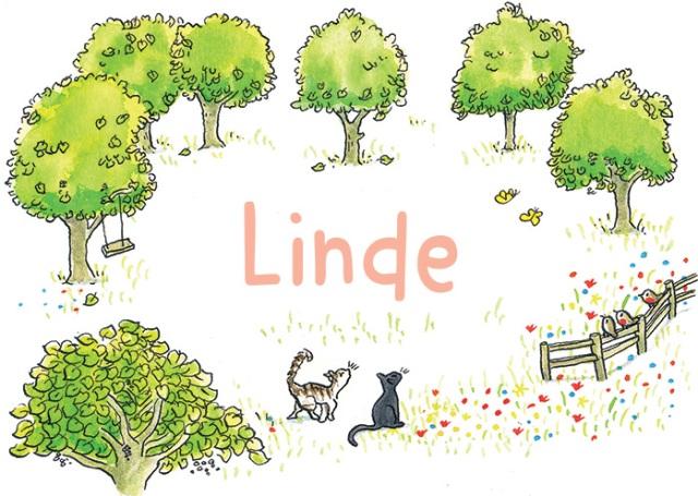 Lindebomen-voorkant-lentezomer